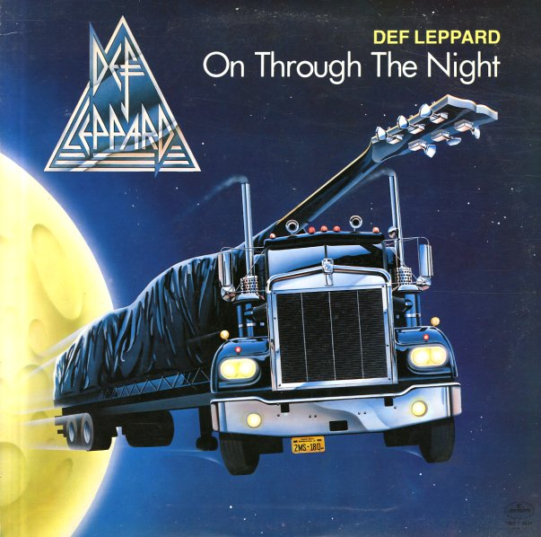 Def Leppard On Through The Night Lp Vinyl Record Album