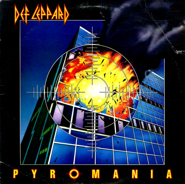 Def Leppard Pyromania Lp Vinyl Record Album Dusty