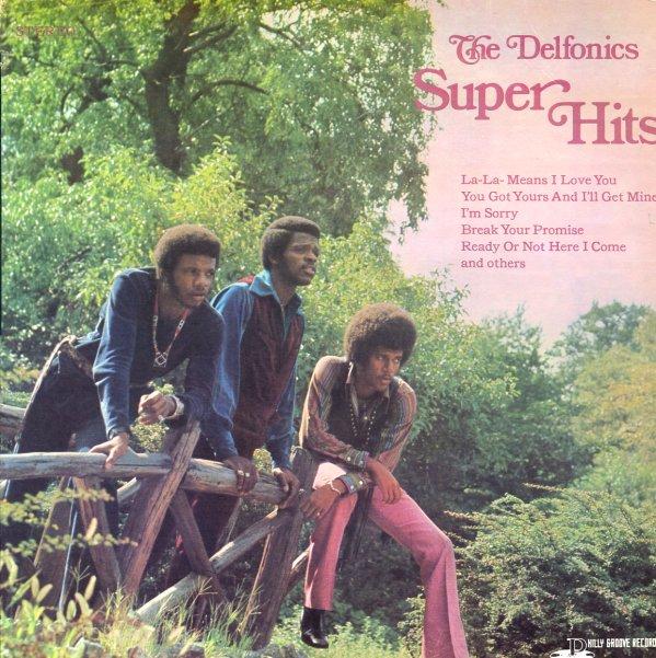 Delfonics Super Hits Lp Vinyl Record Album Dusty