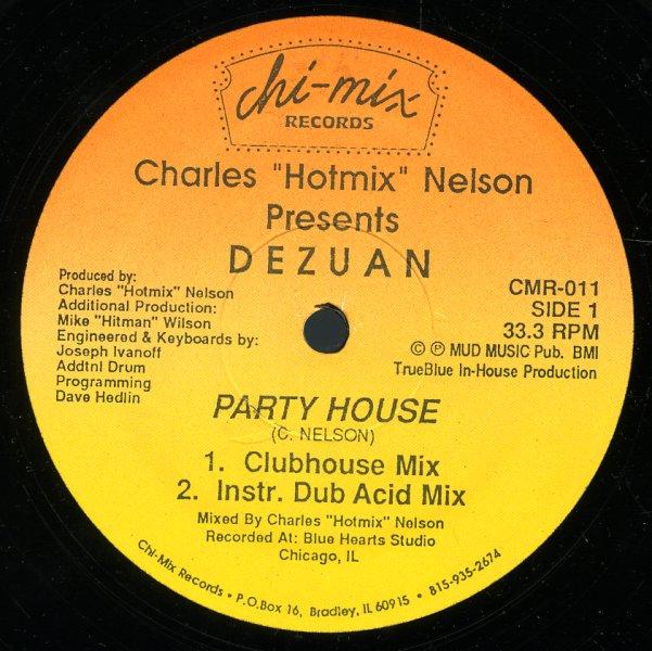 Dezuan party house clubhouse mix inst dub acid mix for Acid house mix