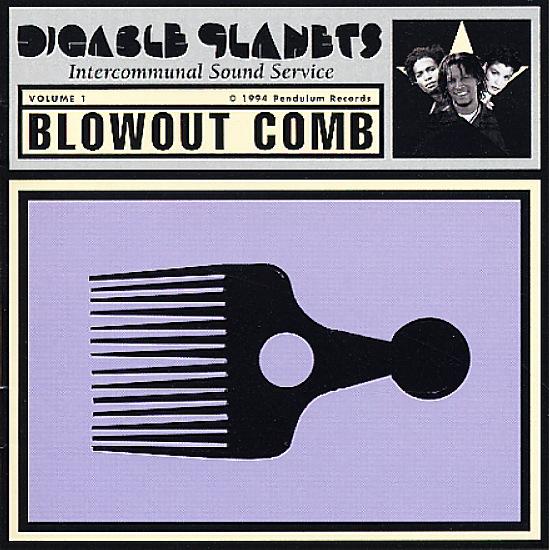 Digable Planets : Blowout Comb (plus poster) (LP, Vinyl ...