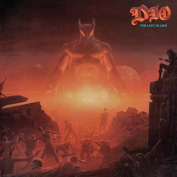 Dio Last In Line Colored Vinyl Pressing Lp Vinyl