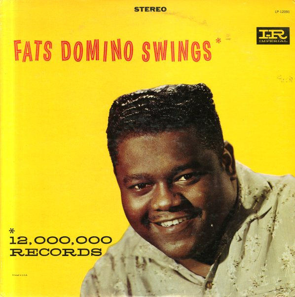 Fats Domino Fats Domino Swings Lp Vinyl Record Album