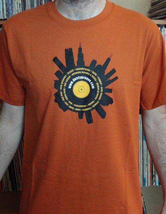 Dusty Skyline - Burnt Orange (LARGE)