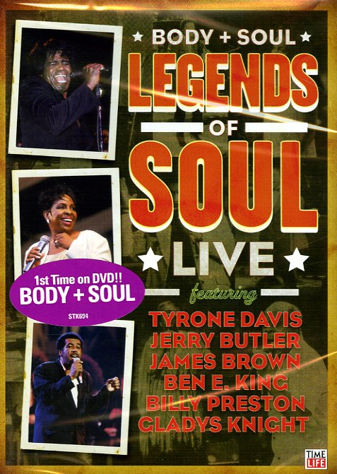 Cover: Body And Soul Legends Of Soul Live 2008 NTSC.MDVDR-C4DVD