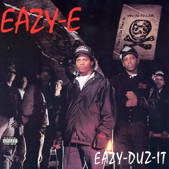 Eazy-e - real muthaphuckkin gs featuring bg knocc out  gangsta dresta live on arsenio hall show dr dre diss