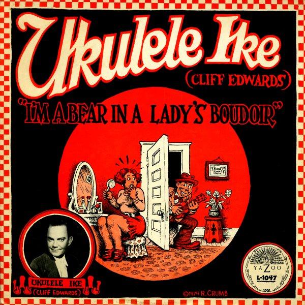 cliff edwards ukulele ike i 39 m a bear in a lady 39 s boudoir lp vinyl record album dusty. Black Bedroom Furniture Sets. Home Design Ideas
