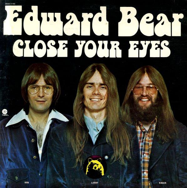 Edward Bear Close Your Eyes Lp Vinyl Record Album