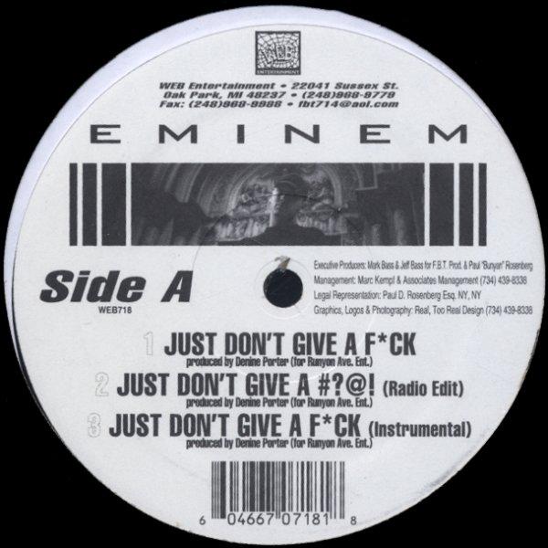 Eminem Slim Shady Ep 12 Inch Vinyl Record Dusty