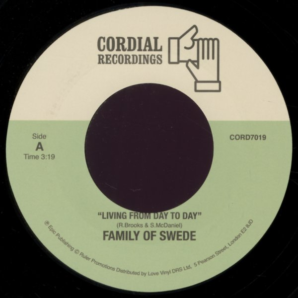 Family Of Swede : Living From Day To Day/Where Are You (7-inch, Vinyl  record)