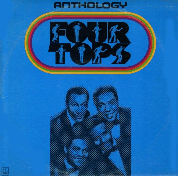 Four Tops Anthology Lp Vinyl Record Album Dusty