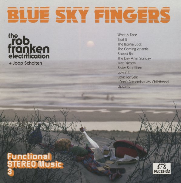 Rob Franken Electrification Blue Sky Fingers Lp Vinyl