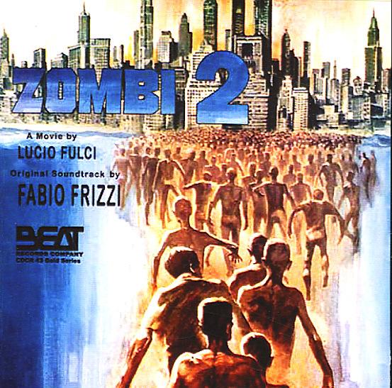 Black Acrylic Fabio Frizzi Zombi 2