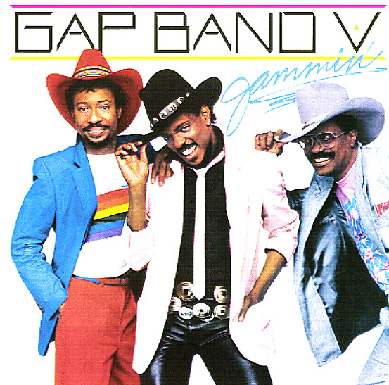 Gap Band Gap Band V Jammin Lp Vinyl Record Album