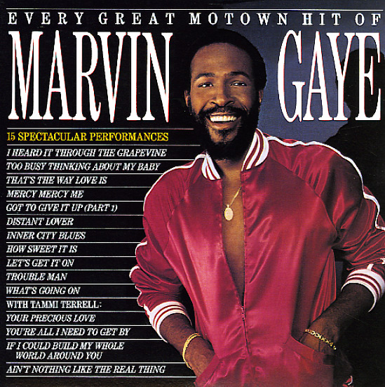 Marvin Gaye Every Great Motown Hit Of Marvin Gaye Lp
