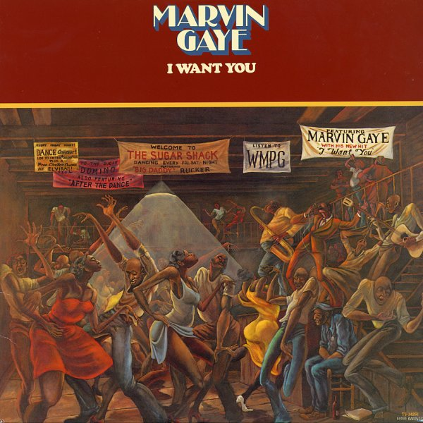 Marvin Gaye I Want You Lp Vinyl Record Album Dusty