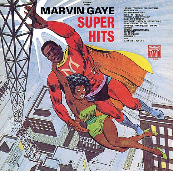 Marvin Gaye Super Hits Lp Vinyl Record Album Dusty