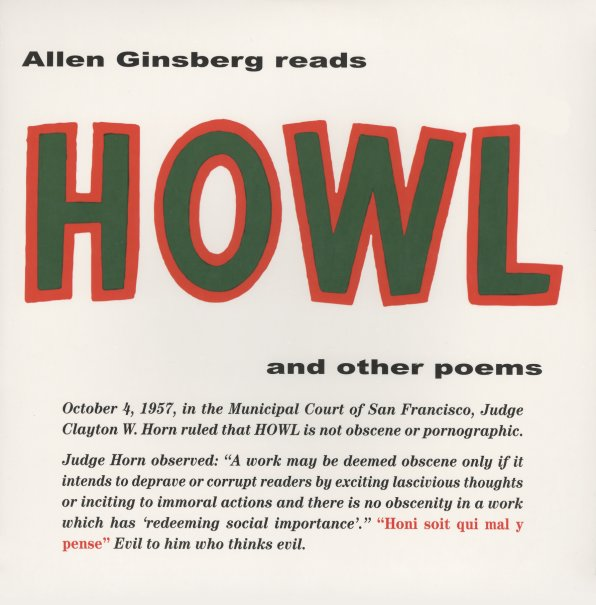 Allen Ginsberg : Allen Ginsberg Reads Howl & Other Poems ...