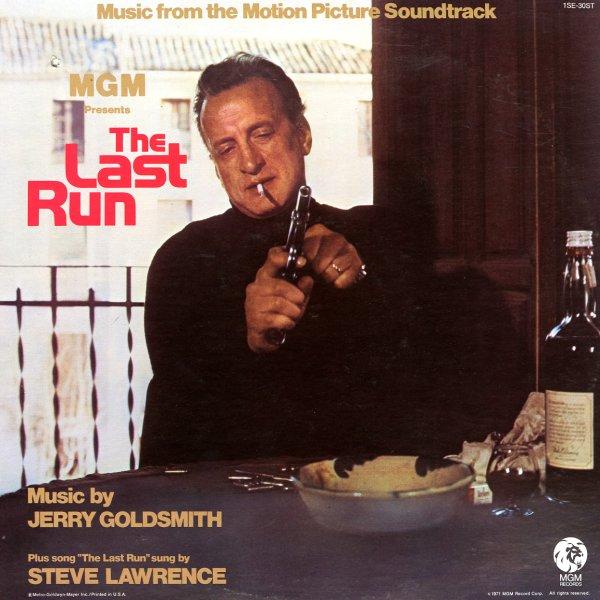 Jerry Goldsmith Last Run Original Soundtrack Lp