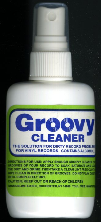 Groovy Groovy Record Cleaner 8 Ounce Record Care