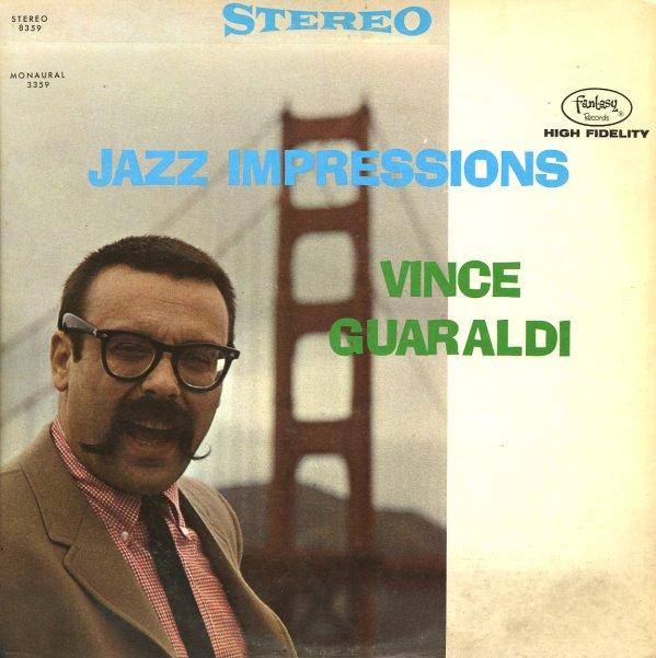 Vince Guaraldi Trio Jazz Impressions Lp Vinyl Record