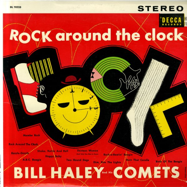 Bill Haley Amp His Comets Rock Around The Clock Lp Vinyl