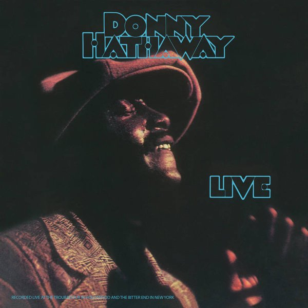 Donny Hathaway Donny Hathaway Live Lp Vinyl Record