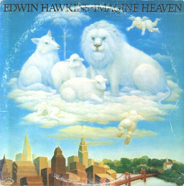 Edwin Hawkins Imagine Heaven Lp Vinyl Record Album