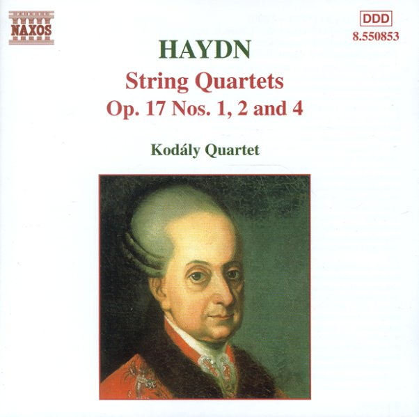 Haydn:String Quartets Op 17 Nos 1 2 4 Kodaly Quartet on Color By Note Kodaly