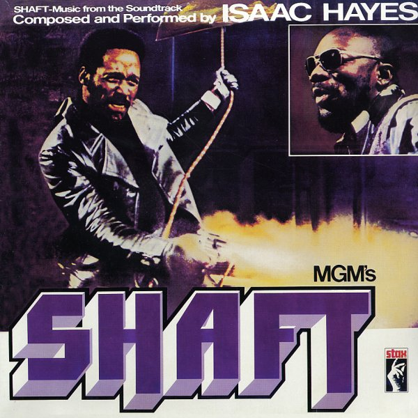 Isaac Hayes Shaft Lp Vinyl Record Album Dusty