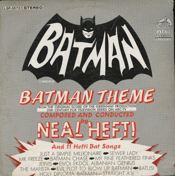 Neal Hefti Batman Theme Amp 11 Hefti Bat Songs Lp Vinyl