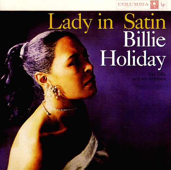 Billie Holiday Lady In Satin Lp Vinyl Record Album