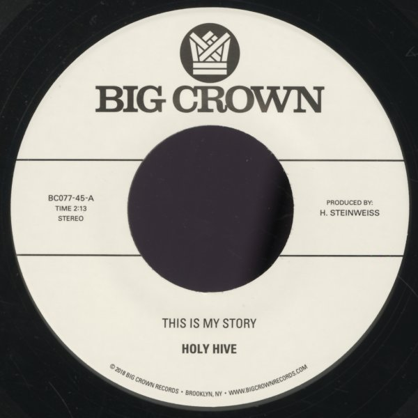 Holy Hive : This Is My Story/Blue Light (7-inch, Vinyl record