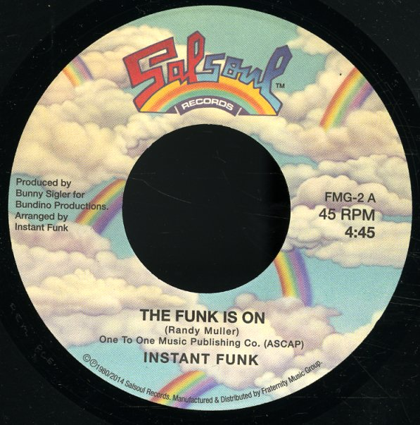 Instant Funk The Funk Is On : Instant funk gaz is on sing undercover
