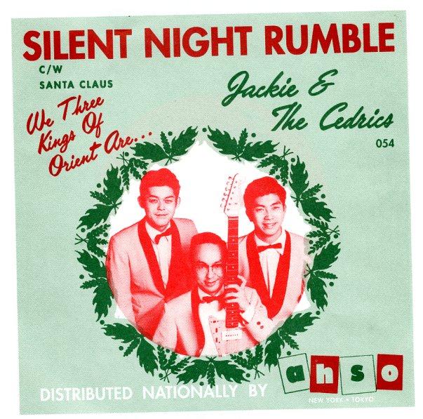 Jackie & The Cedrics : Silent Night Rumble/Santa Claus (green colored vinyl) (7-inch, Vinyl ...