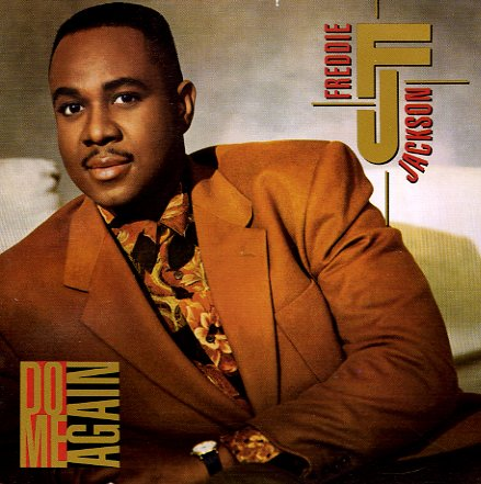 Freddie Jackson Do Me Again Lp Vinyl Record Album