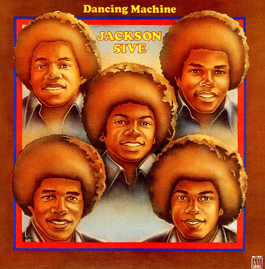 Jackson 5 Dancing Machine Lp Vinyl Record Album