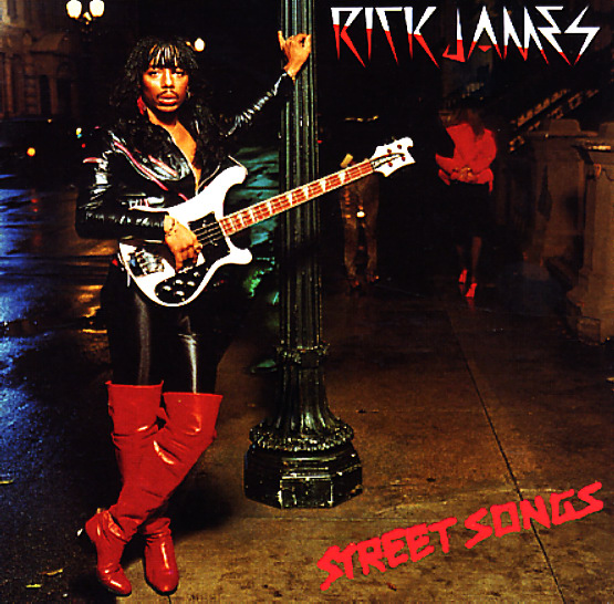 Rick James Street Songs Lp Vinyl Record Album