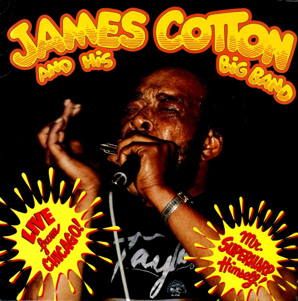 James Cotton Amp His Big Band Live From Chicago Mr