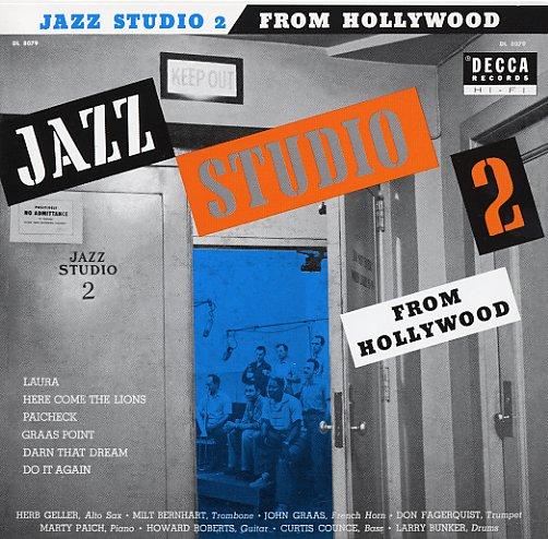 Decca jazz studio