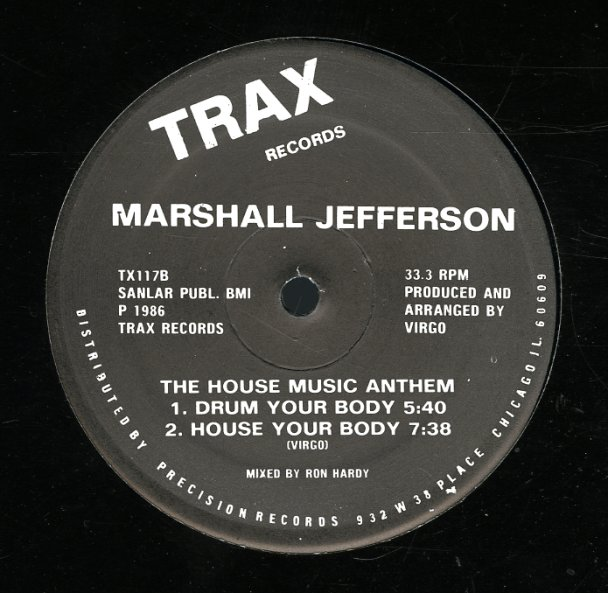marshall jefferson house music anthem move your body