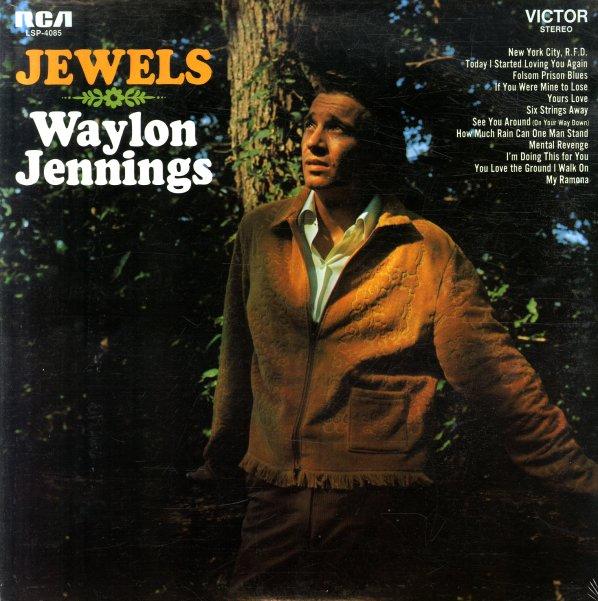 Waylon Jennings Jewels Lp Vinyl Record Album Dusty