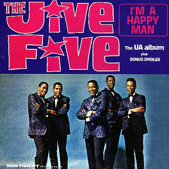 Jive Five I M A Happy Man The Ua Album Plus Bonus