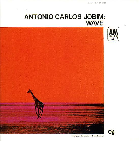 Antonio Carlos Jobim Wave Lp Vinyl Record Album