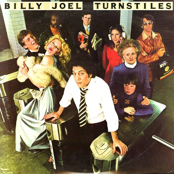 Billy Joel Turnstiles Lp Vinyl Record Album Dusty