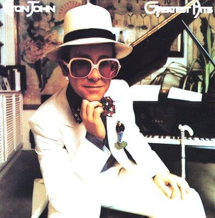 Elton John Greatest Hits Lp Vinyl Record Album