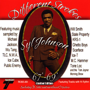 Syl Johnson Different Strokes 1967 To 1969 Limited
