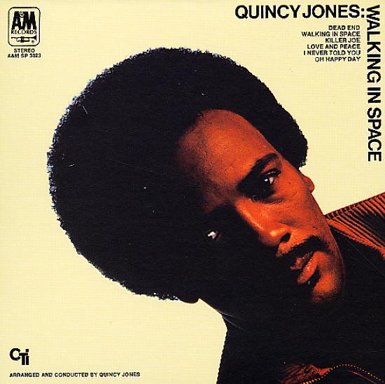Quincy Jones Walking In Space Lp Vinyl Record Album