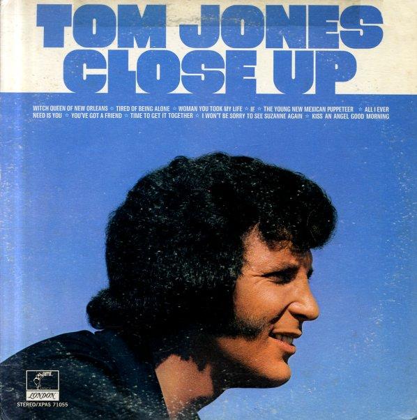 Tom Jones Close Up Lp Vinyl Record Album Dusty