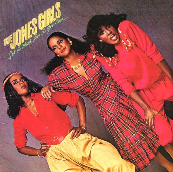 Jones Girls Get As Much Love As You Can Lp Vinyl